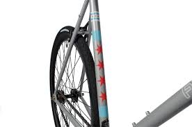 Chicagos Flag Custom Chicago Flag Fixed Gear Bicycle Fyxation