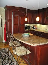 Double Kitchen Island Designs Islands In Kitchens Zamp Co