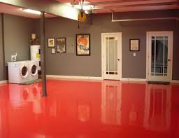 basement floor paint ideas basement flooring paint ideas tourcloud