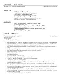 Occupational Therapist Resume Template Pathologist Resume Sample Sidemcicek Com