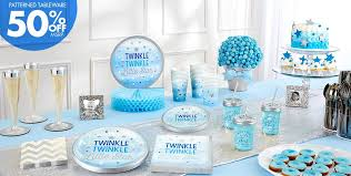 twinkle twinkle baby shower theme blue twinkle twinkle gender reveal baby shower party