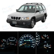 white subaru forester 2015 led package dash instrument panel gauge white bulb for 2001 2002