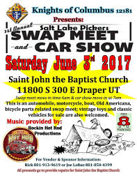 Draper Utah Map by Knights Of Columbus 12181 Car Show And Swap Meet Draper Utah
