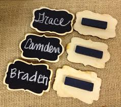 Name Tag On Desk New Chalkboard Name Tags Set Of 6 Magnetic Name By Bradensgrace