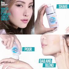 maybelline white superfresh liquid powder foundation spf 50 makeup