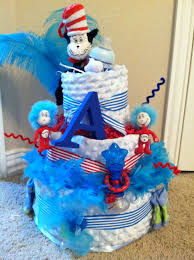 dr seuss diaper cake baby pinterest diapers cake and babies