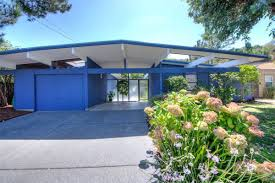 Eichler Houses by California Eichler Trimmed In Blue Asks 1 2m Curbed