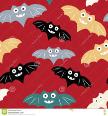 halloween free vector background halloween seamless pattern with colorul bat beautiful vector