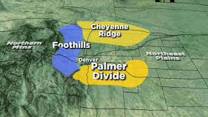 Colorado Front Range Map Unique Terrain Is Why Front Range Snow Totals Often Vary Cbs Denver