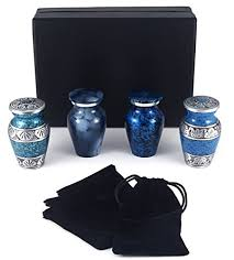keepsake urns for ashes adera dreams small keepsake urn set of 4 mini cremation urns for