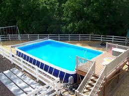 pool plans free pools with decks above ground swimming pool decks plans free
