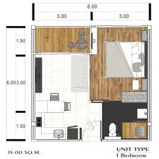 Citygate Floor Plan Citygate Phuket Type B Kitchen Home Holiday Or Investment