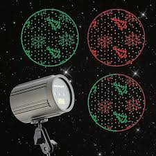 green snowflakes trees premium instant laser projection