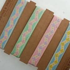 cheap ribbons neotrims flower pastel colours ribbon online by the yard cheap