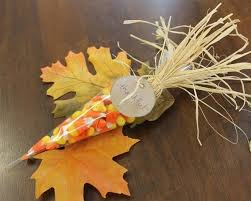 corn thanksgiving table favor thanksgiving table place