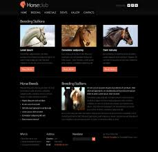 website bug report template free website template horse club zoom in