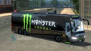 bus monster truck videos volvo bus monster skin ets 2 mods