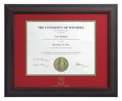 degree frames degree frames alumni the of winnipeg