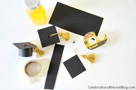 graduation cap invitations diy graduation cap bottle toppers celebrations at home