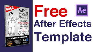 after effects templates the video explainer after effect template