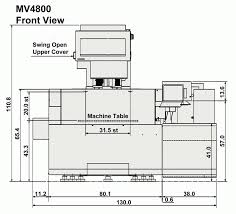 mv4800 advance wire edm machines mc machinery systems
