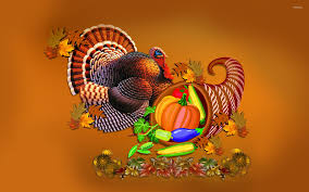 thanksgiving turkey and cornucopia wallpaper wallpapers