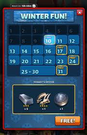 Winter Deals On S Missing Winter Deals Calendar Bugs Issues Empires