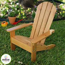 Kidkraft Lounge Set by Amazon Com Kidkraft Adirondack Chair Honey Toys U0026 Games