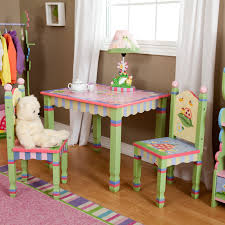 kidkraft nantucket 4 piece table bench and chairs set fantasy fields magic garden table and 2 chair set hayneedle