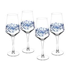 glassware blue italian tableware spode uk