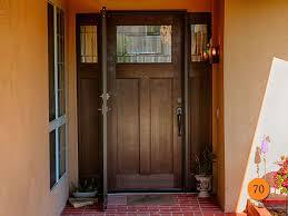 Exterior Door With Side Lights Craftsman Front Door Wood 12 Beautiful Craftsman Front Door