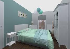 couleur bleu chambre chambre vert et bleu idées de décoration capreol us