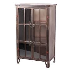 Metal Bookcase With Glass Doors Uptown Bookcase Metal Bookcase With Glass Doors Plum