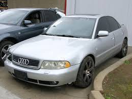 2001 audi a4 1 8t quattro parts car stock 005626