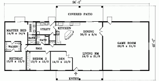 Great Room Floor Plans Single Story 4 Bedroom Single Story Floor Plans Amazing House Plans
