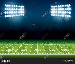 how tall are football stadium lights american football field stadium vector photo bigstock