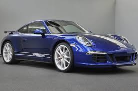 porsche singer blue 911 custom