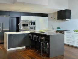 kitchen spectacular black and white l shaped kitchen designs for
