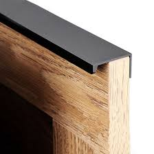 black modern kitchen cabinet pulls contemporary black profile handles kitchen cabinet pulls