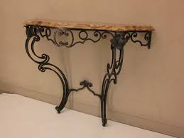 Wrought Iron Console Table Wrought Iron Console Table And Mirror Beblincanto Tables