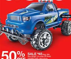 target 6s black friday offer new bright 1 6 scale off road monster truck deal at target black