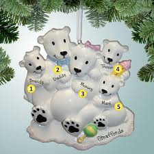 1st ornaments polar family of 5 expecting baby 4
