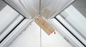 Fixing Vertical Blinds Box Bay Window Measuring Guide