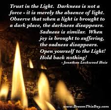 Quotes About Light And Dark Light And Darkness Quotes Like Success