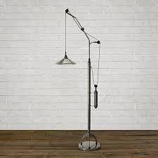 Pulley Floor Lamp Mercury Rising Floor Lamp Arhaus Furniture