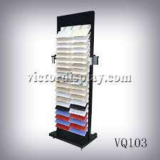 vq103 neolith tile tower display rack factory xiamen victor