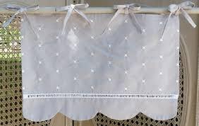 voilages cuisine cantonnière rideaux rideau brodés voilages voilage brodé
