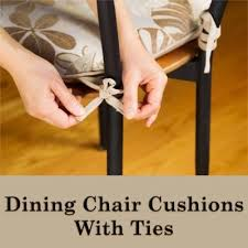 26 best dining chair cushions with ties images on pinterest