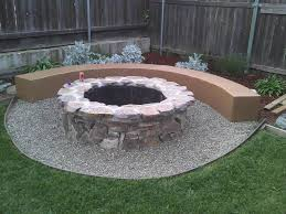 Backyard Landscaping With Fire Pit - fire pit diy ideas fire pit design ideas