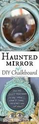haunted mirror and diy chalkboard diy halloween props budget